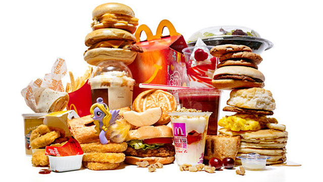 how to eat fast food and not get fat