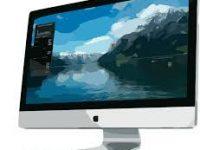 monitor sfondo